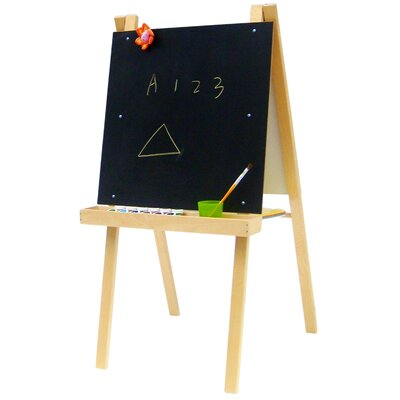 Economy Art Easel with Black / Dry Erase Board