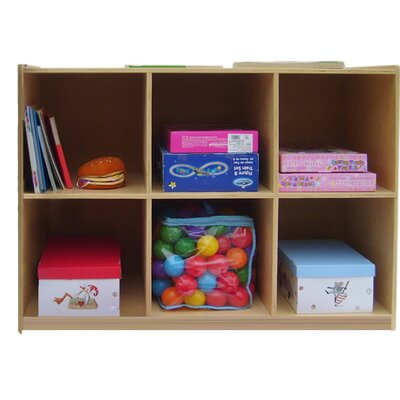 A+ Child Supply Six Shelves Organizer