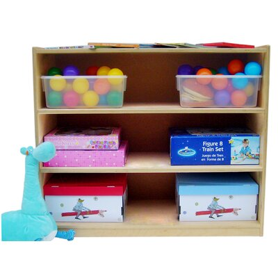 "A+ Child Supply Three Shelves 30"" Bookcase"