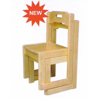 Birch Stackable Kid's Chair