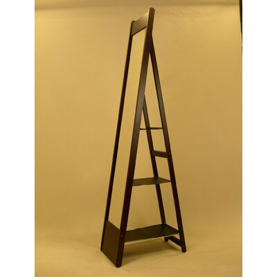 Proman Products Aris Classic Mirror Stand in Rich Mahogany