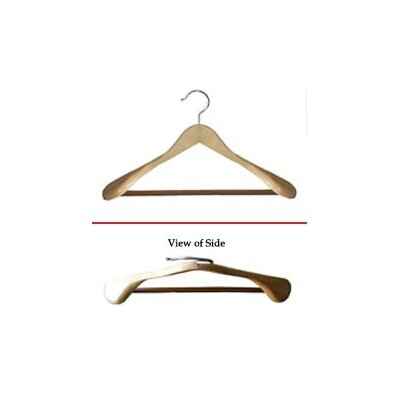 Proman Products Libra Wide Shoulder Suit Hangers (Set of 12)