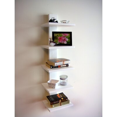 Proman Products Spine Wall Book Shelf