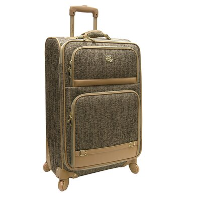 "Oleg Cassini Boutique 28"" Expandable Spinner Suitcase"