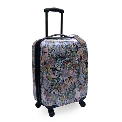 Oleg Cassini Lucas World Tour Expandable Hardsided Spinner Suitcase