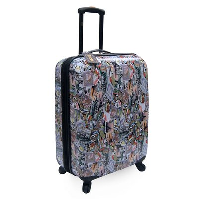 "Oleg Cassini Lucas World Tour 24"" Expandable Spinner Suitcase"