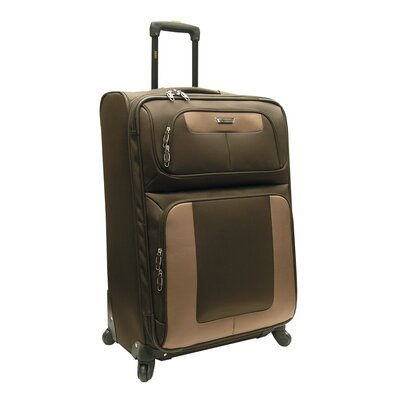 "Oleg Cassini Lucas Radar 31"" Expandable Spinner Suitcase"