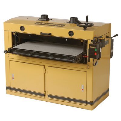 "Powermatic 37"" Dual Drum Sander 10HP"