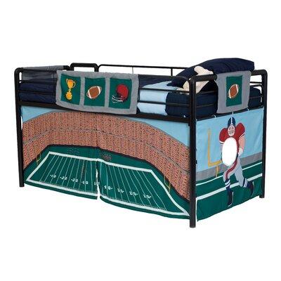 Dhp Football Stadium Curtain Set For Junior Loft Bed