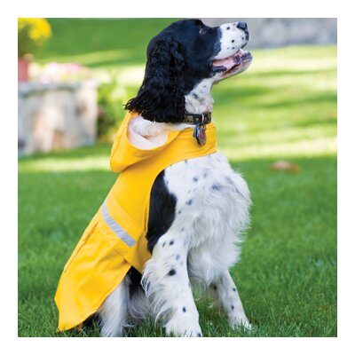 Petrageous Designs Seattle Slicker Dog Raincoat in Yellow