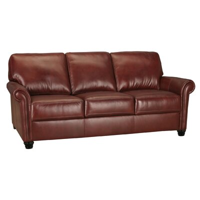 World Class Furniture Calvin Leather Sofa