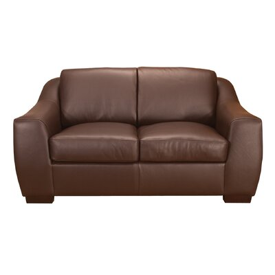 World Class Furniture Magic Leather Loveseat
