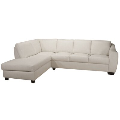 Magic Leather Sectional D