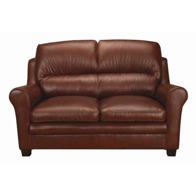 World Class Furniture Markdale Leather Loveseat