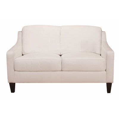 World Class Furniture Malta Leather Loveseat