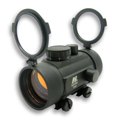 NcSTAR 1x42 B-Style Red Dot Sight with Weaver Base in Black