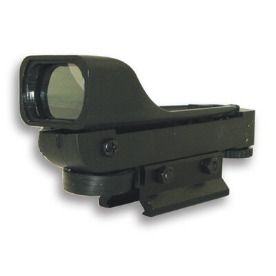 Red Dot ReflexSight with Weaver Base in Black