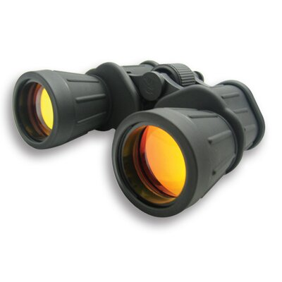 10x50 Binoculars with Ruby Lens in Black