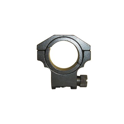 "NcSTAR Low Ruger Ring with 1"" Insert in Black"