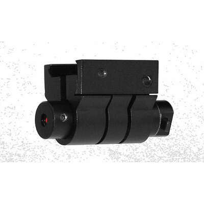 NcSTAR Red Laser Sight with Weaver Mount in Black