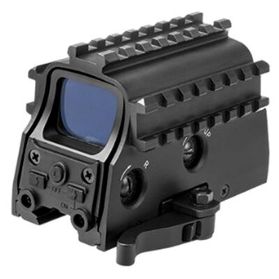 Tactical Green Dot Sight Built in Red Laser