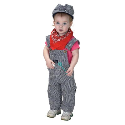 Aeromax Jr. Train Engineer Suit for 18 Months Costume