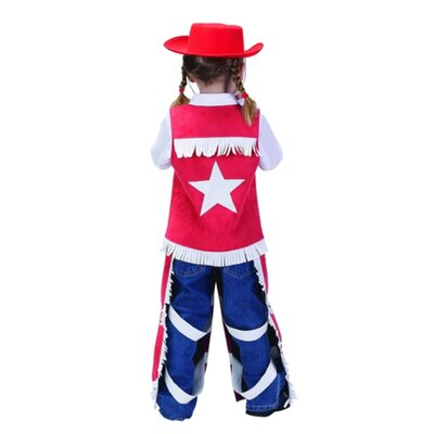 Aeromax Junior Cowgirl Suit Costume