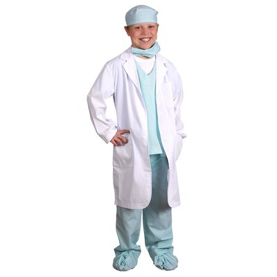 Aeromax Jr. Physician Costume in Green
