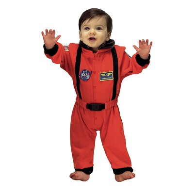 Jr. Astronaut Suit in Orange for 6-12 Months Costume