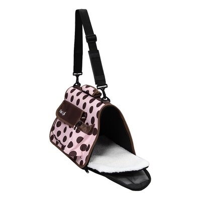 Pet Life Airline Approved Designer 'Polka-Dot' Pet Carrier