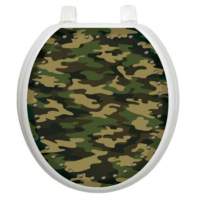 youth army camouflage toilet seat decal wayfair