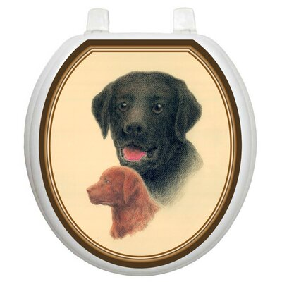 Toilet Tattoos Themes Labrador Retriever Toilet Seat Decal