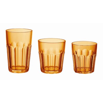 "Guzzini Happy Hour 4"" Tumbler in Orange"
