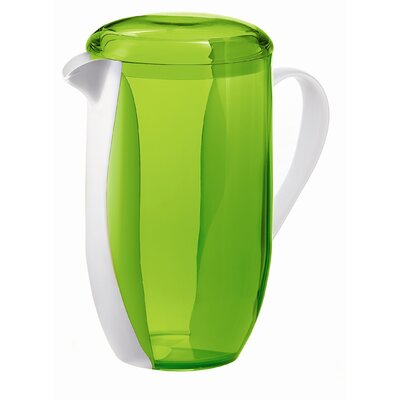 Guzzini Happy Hour Two Toned Pitcher in Green