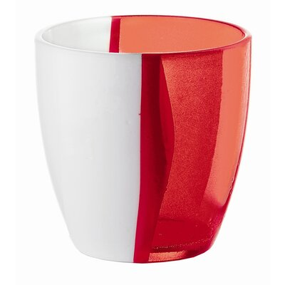 Guzzini Happy Hour Two Toned Water Glass in Red