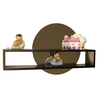Regal Shelf with Mirror