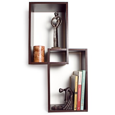 Danyab Mount Intersecting Wall Shelf Amp Reviews Wayfair