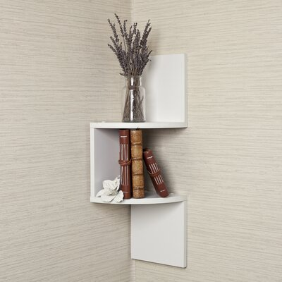 Danya B Corner Shelf
