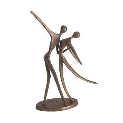 Danya B Dancing Couple in Cast Bronze