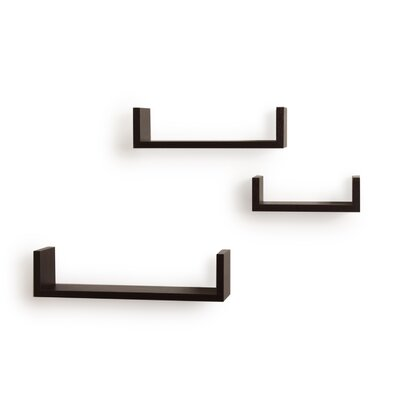 Danya B FiniFloating U Shelf (Set of 3)