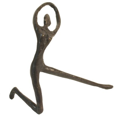 Female Yoga Stretch Figurine