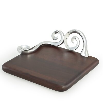 Gaudi Inspired Organic Swirls Cheese Board