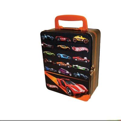 neat oh hot wheels 18 car tin vintage toy box reviews wayfair. Black Bedroom Furniture Sets. Home Design Ideas