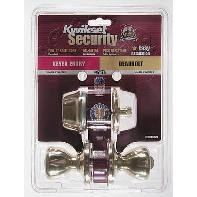 Kwikset Security Entry Combo Pack