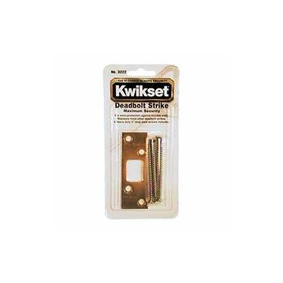 Kwikset Maximum Security Deadbolt Strike