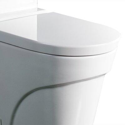 Ariel Bath Oceanus Contemporary 1.6 GPF Elongated 1 Piece Toilet