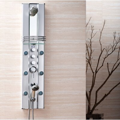 Ariel Bath Aluminum Thermostatic Shower Panel