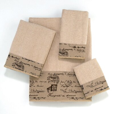 Passport 4 Piece Towel Set