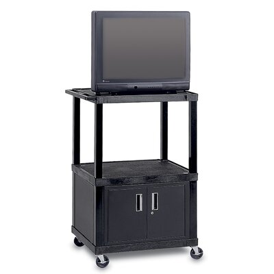 "Peerless Adjustable Height Video Cart For Up to 32"" TVs"