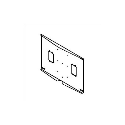 "Peerless External Wall Plate with 16"" Centers"
